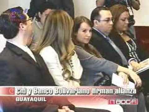 Citi y Banco Bolivariano firman alianza