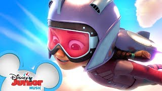Theme Song 🎶 | The Rocketeer | Disney Junior