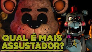 FNAF: Qual é o FNAF mais ASSUSTADOR? (Five Night at Freddy's)