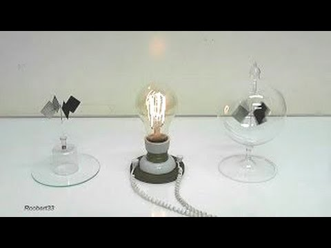 how to build a homemade radiometer