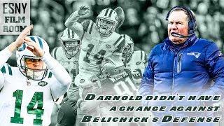 ESNY FILM ROOM: Sam Darnold Had No Chance Against Bill Belichick's Defense