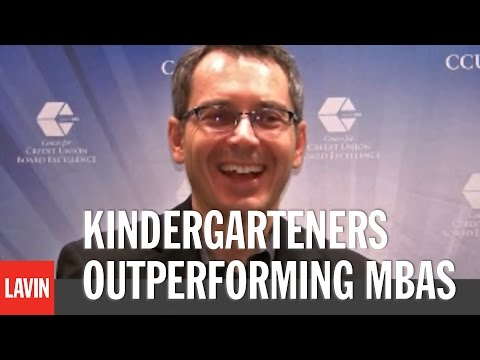 TOM WUJEC: Kindergarteners Outperforming MBAs - Explaining the Famous Marshmallow Challenge
