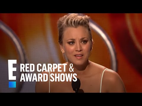 The People's Choice for Favorite Comedic TV Actress is Kaley Cuoco-Sweeting