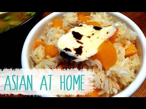 Healthy Recipes : Butternut Squash Rice And Miso Soup : Japanese Food : Asian At Home