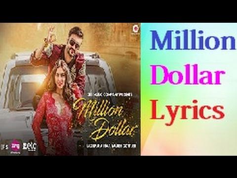 Million Dollar Song with Lyrics | Fazilpuria & Lauren Gottlieb | Rossh