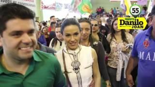 Cajamar Danilo Joan Prefeito  55Clipe da Música Danilo 55   Jingle de Campanha