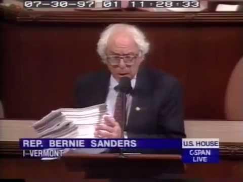 Bernie Sanders: This Bill is Too Damn Long! (7/30/1997)