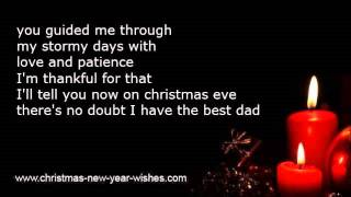 Christmas poems children to parents - love from kids