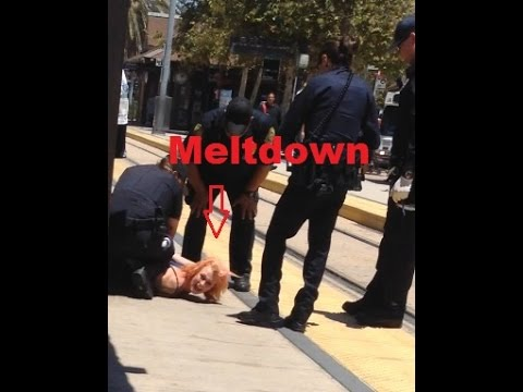 [Arrest Meltdown - No Need to Scream - Warning Major Language] Video