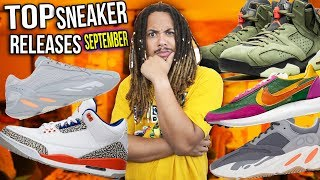 TOP 10 SEPTEMBER SNEAKER RELEASES 2019
