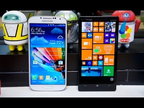 Lumia Icon vs Galaxy S 4