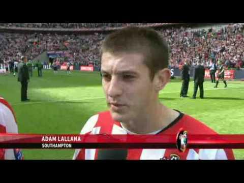 Carlisle 1-4 Southampton - Rickie Lambert and Adam Lallana interview