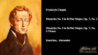 Fryderyk Chopin, Mazurka No. 5 in B-Flat Major, Op. 7, No. 1