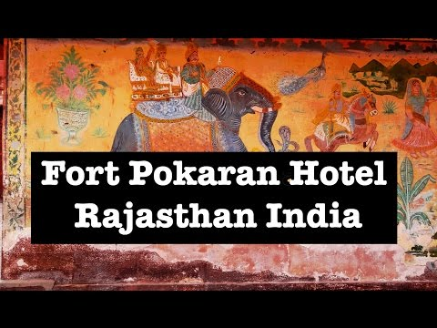 India Holidays & Hotels - Prince Param at Fort Pokaran