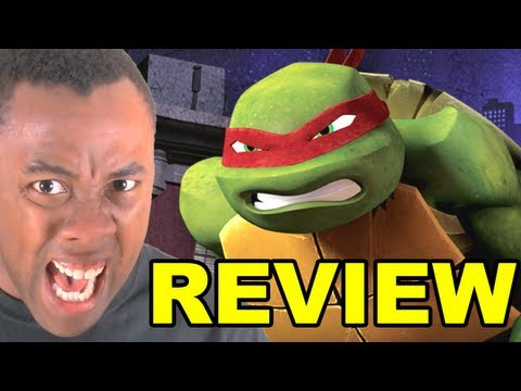 TEENAGE MUTANT NINJA TURTLES 2012 REVIEW (Nickelodeon)