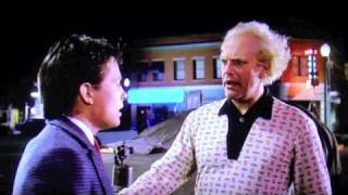 [Funniest Deleted Scene From Back To The Future] Video