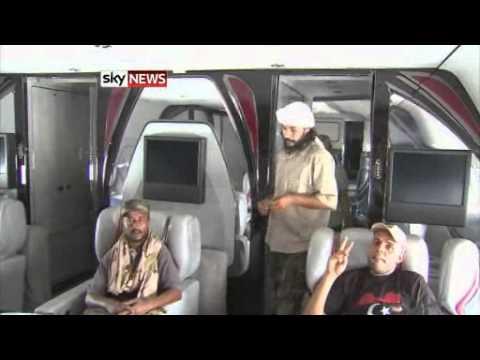 Inside Gaddafi 39 S Own 39 Air Force One 39 Youtube