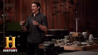 Forged in Fire: Damascus Patterned Blades (Season 5, Episode 8) | History