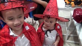 Trò chơi bé đi siêu thị mua đồ hóa trang Halloween ♦ Đồ Chơi Trẻ Em