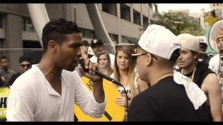 AHAT Summer Jam rap battle | Konflict vs Emerson Kennedy | Las Vegas vs Utah