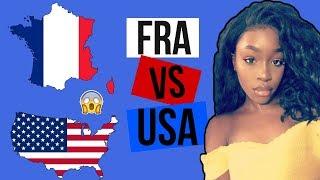 VIVRE EN FRANCE VS VIVRE AUX ETATS UNIS ! | Sarahdi Channel