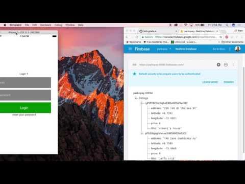 Class Recording 03 react native looping firebase data