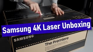 02. Samsung The Premiere (LSP9T) 4K Laser Projector Unboxing, Setup & Settings