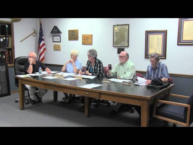 Lakeview Town Council regular session 7-08-2014