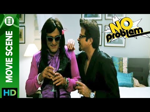 Akshaye Khanna And Anil Kapoor Make Love - No Problem