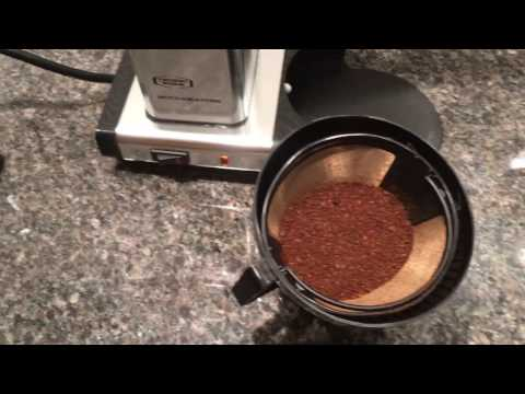 Moccamaster KBT 10-Cup Coffee Brewer in Action