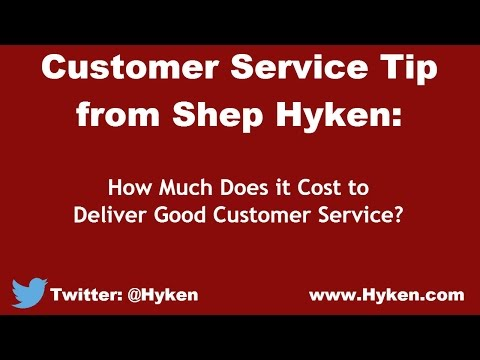 Customer Service Expert Tip: The Cost of Good Customer Service