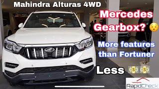 Mahindra Alturas G4 4WD Review || Fortuner खरीदने से पहले इस वीडियो को देखें || 4k Real life Review