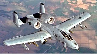 FAST & POWERFUL US Military A-10 Military Aircraft