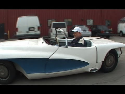 Yes, the LaSalle II Roadster hits the asphalt and we are in it. Bortz tinkered with automotive history. a classic ev conversion From the Bortz auto collection.