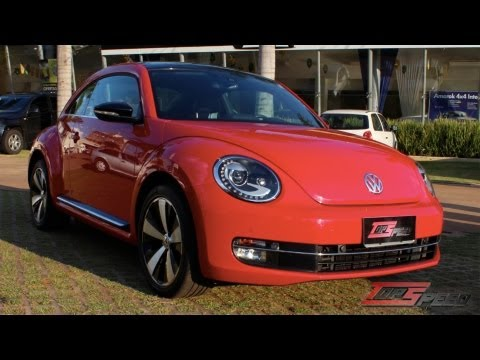 Test Drive Volkswagen Fusca 2.0 TSi 2014 (Canal Top Speed)