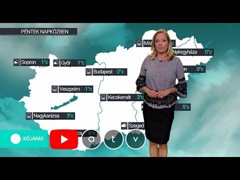 ATV időjárás-jelentés 2019.12.06.