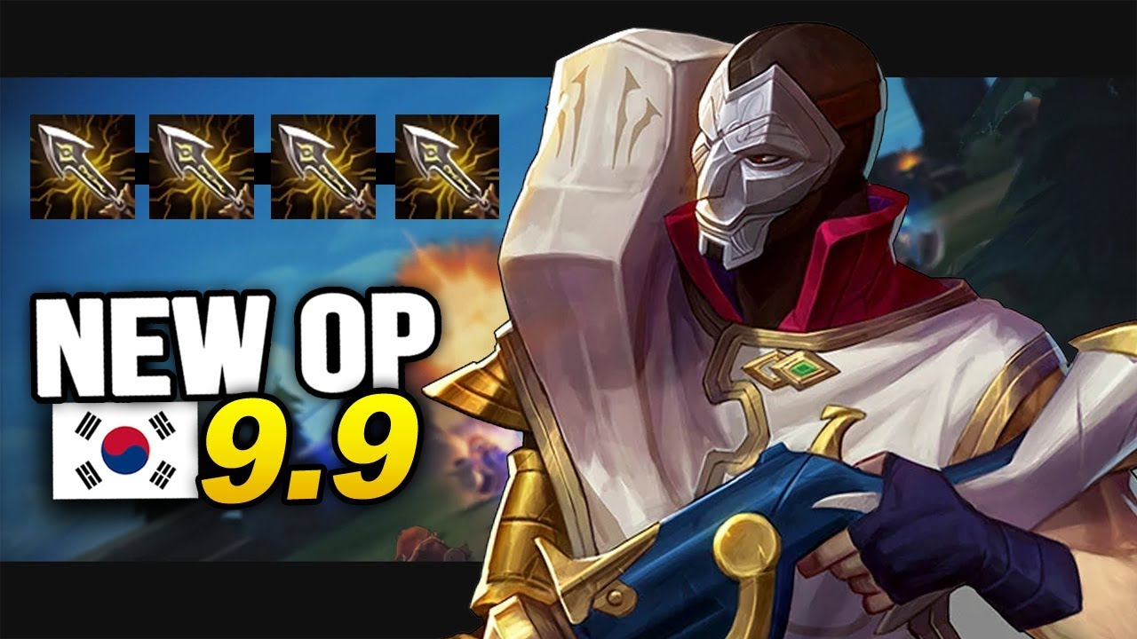 9 New OP Builds and Champs in Korea Patch 9.9 SEASON 9 (League of Legends)