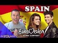 Spain In Eurovision: All Songs From 1961 2018 (REACTION)