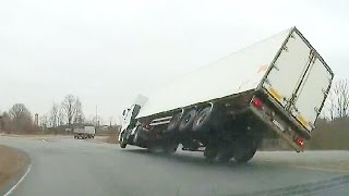 Truck Crash Compilation April  2016