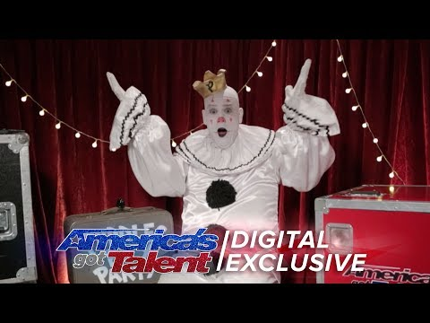 See What Puddles Pity Party Thinks of the Judges! - America's Got Talent 2017