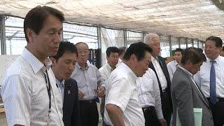 茨城県議会農林水産委員会県内調査(平成27年5月14日)