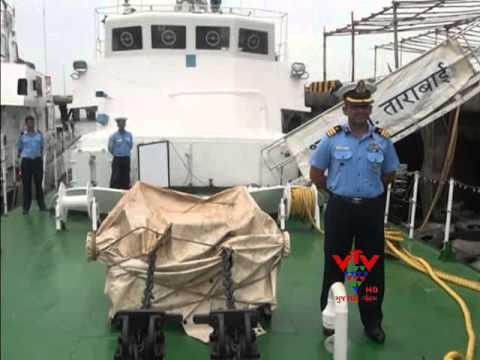 VTV - TARABAI SHIP RETIRES AFTER 26 YEARS IN THE INDIAN COASTGUARD, DWARKA