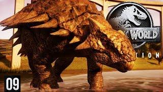 A TANK OF A DINOSAUR | Jurassic World: Evolution (Gameplay Part 9)