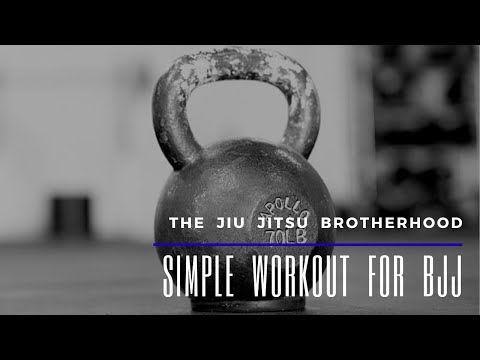 BJJ - Simple Conditioning Workout | Jiu-Jitsu Brotherhood