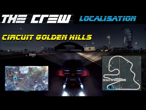 THE CREW | Localisation Circuit Golden Hills [Gameplay FR HD]