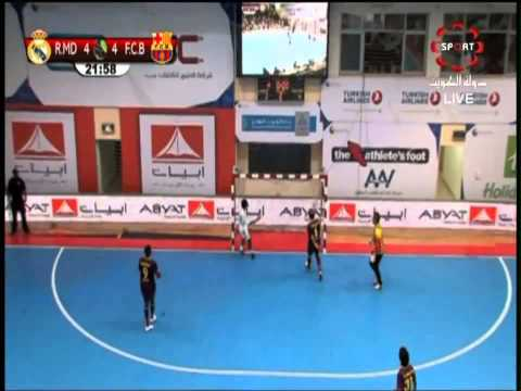 Futsal 2013: Barcelona vs Real Madrid