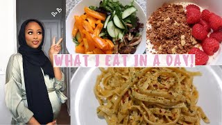 WHAT I EAT IN A DAY WHILE PREGNANT♡