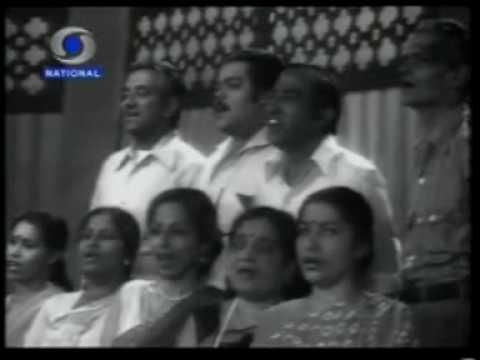 Mahendra Kapoor sings mere desh ki dharti
