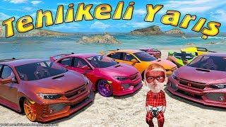 Tehlikeli Yarış Örümcek Bebek Süper Arabalar ve Süper Kahramanlar Yarışıyor Araba Çizgi Filmleri