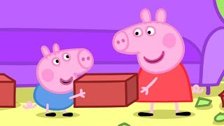 Peppa Pig Italiano -  Peppa Pig e la Casa Spezzata! | Cartoni Animati